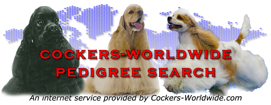 Cockers-Worldwide Pedigree Database search